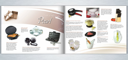 Gift Booklet Spread Pearl