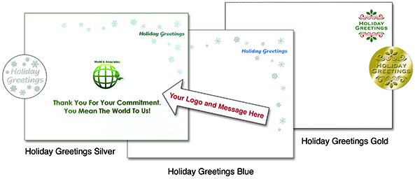Holiday Insert Letter Options